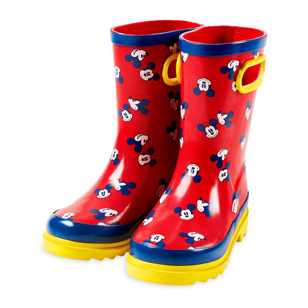 Mickey Mouse Rain Boots for Kids