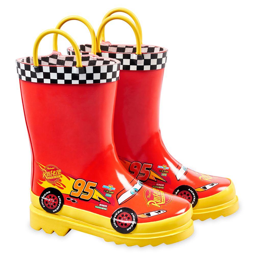 Lightning McQueen Rain Boots for Boys – Cars