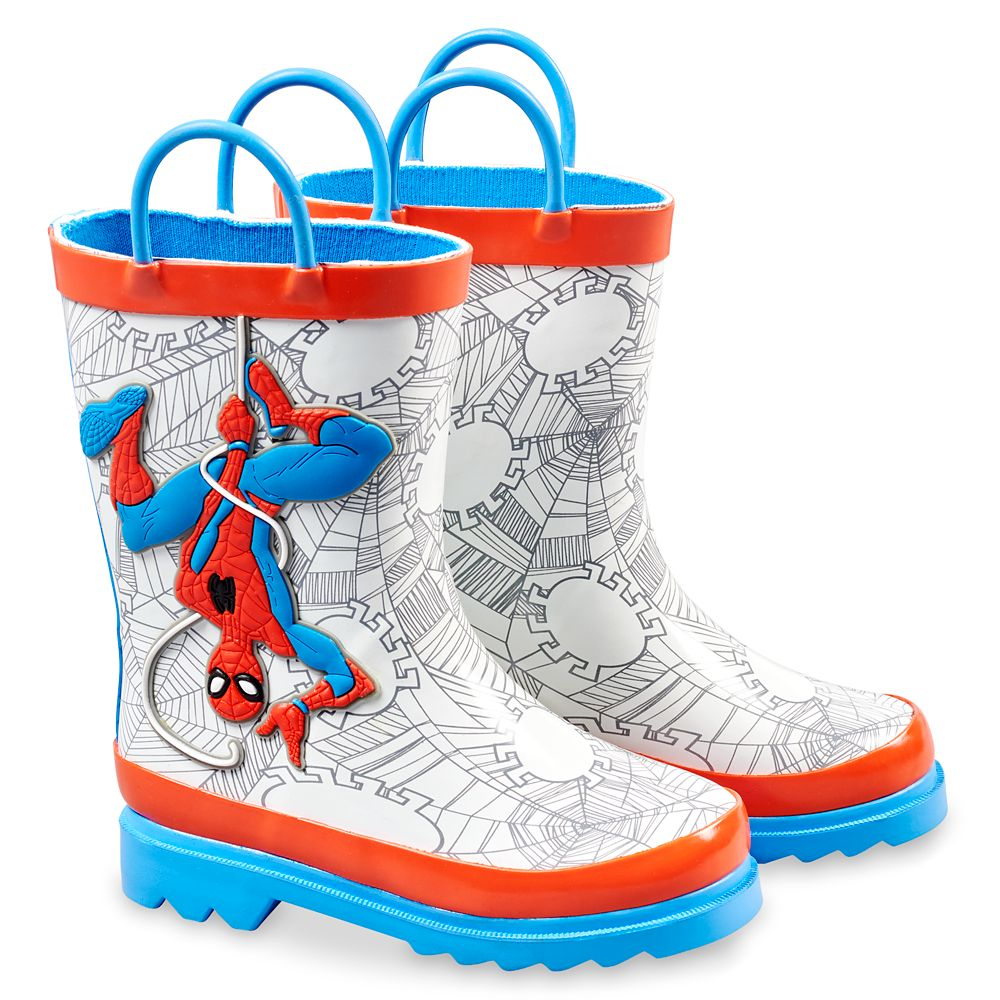 Spider-Man Rain Boots for Boys