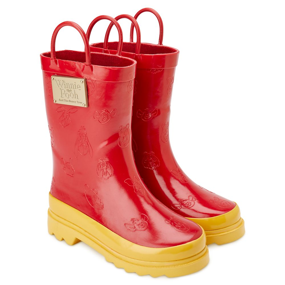 Winnie the Pooh Anniversary Rain Boots for Toddlers