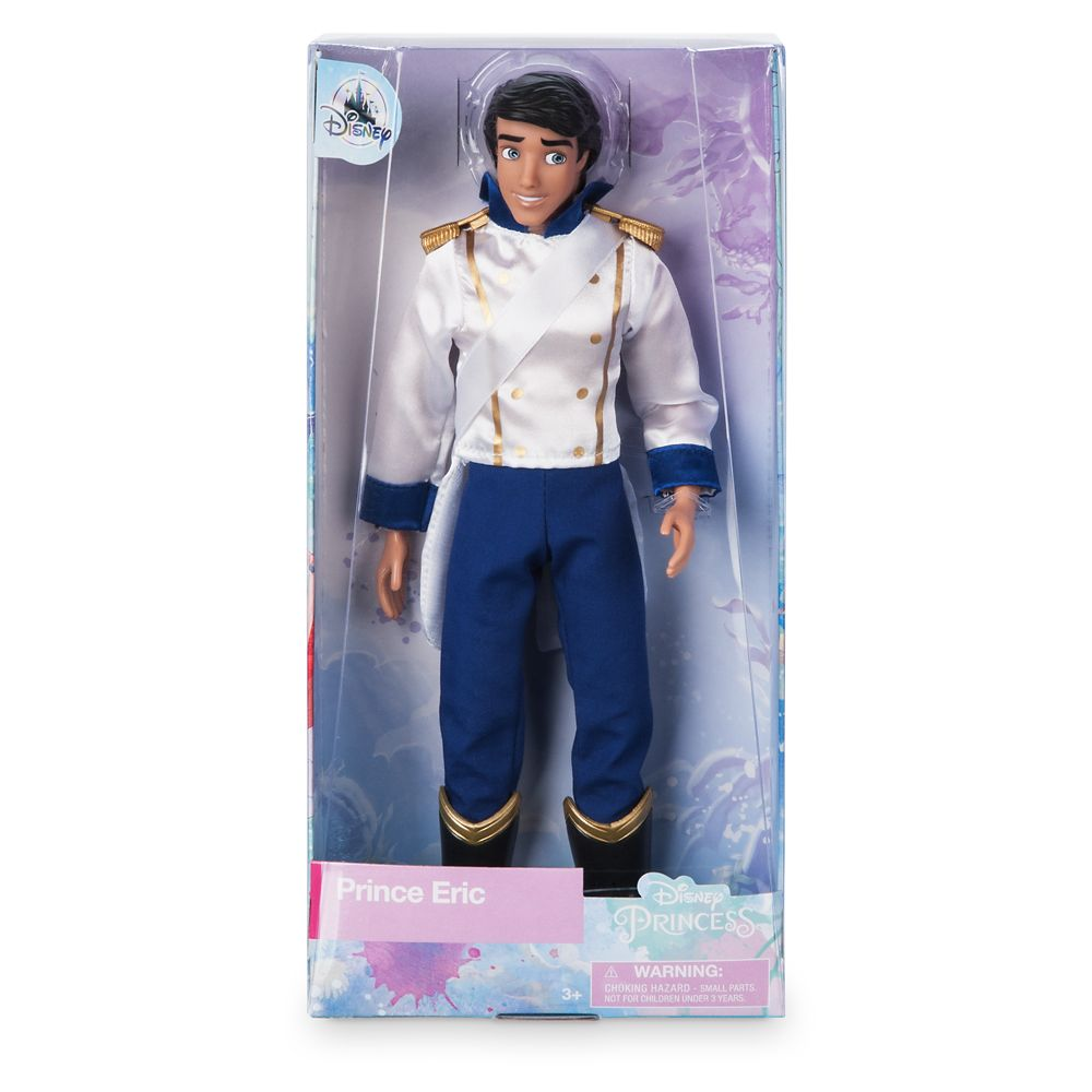 Prince Eric Classic Doll – The Little Mermaid – 12''