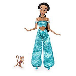 Jasmine Classic Doll with Abu Figure - 11 1/2''