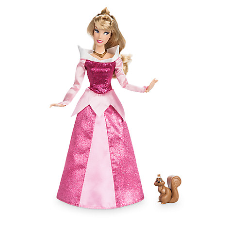 Aurora Classic Doll with Squirrel Figure - 11 1/2''