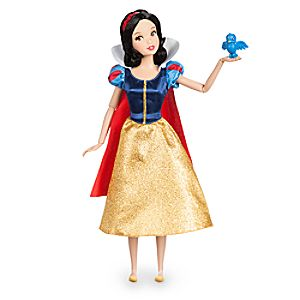 Snow White Classic Doll with Bluebird Figure - 11 1/2''