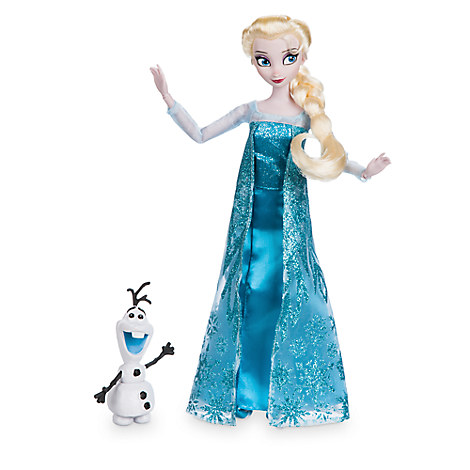 Elsa Classic Doll with Olaf Figure - 11 1/2''