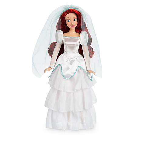 Details About The Little Mermaid Ariel Wedding Doll 11 1 2 Disney Princess