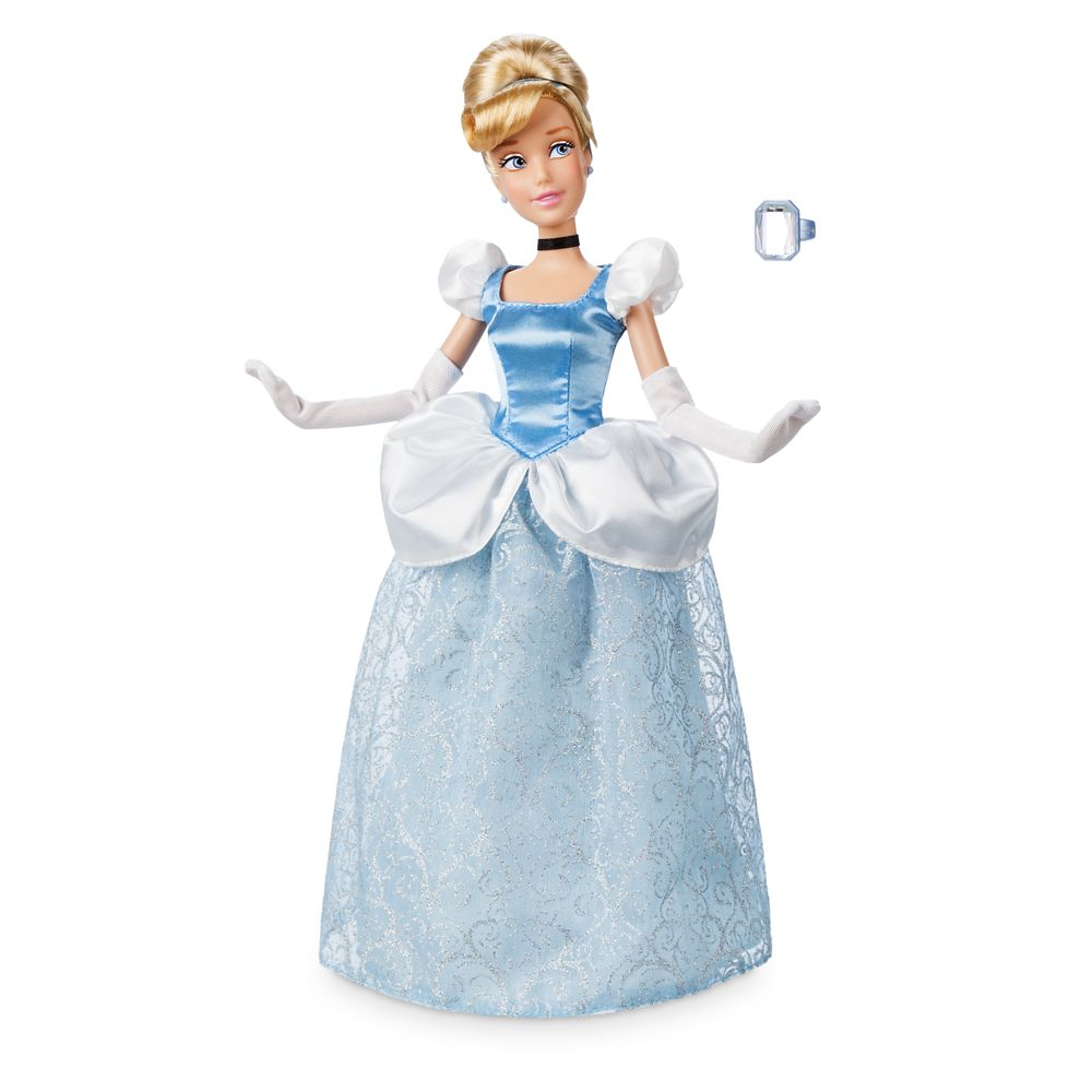 Cinderella Classic Doll with Ring – 11 1/2''