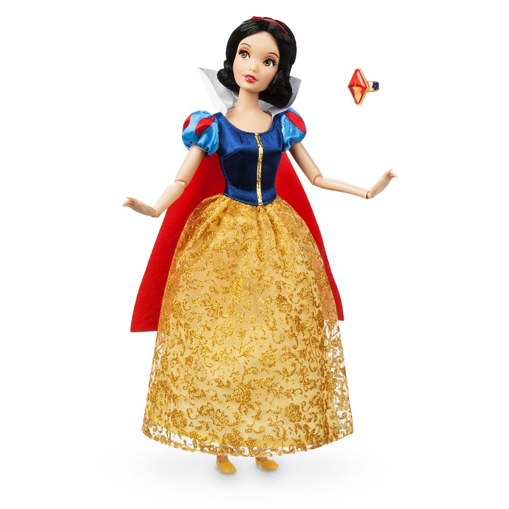 Snow White Classic Doll with Ring – 11 1/2''