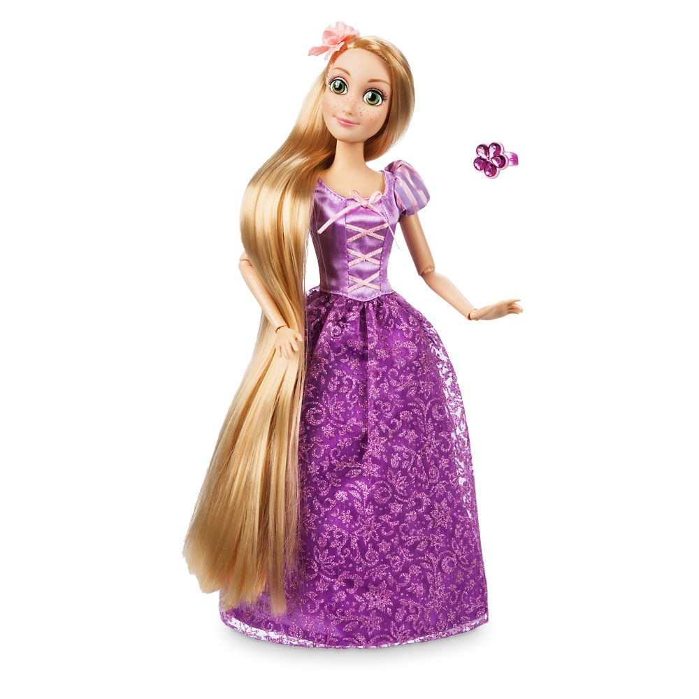 Rapunzel Classic Doll with Ring – Tangled – 11 1/2''