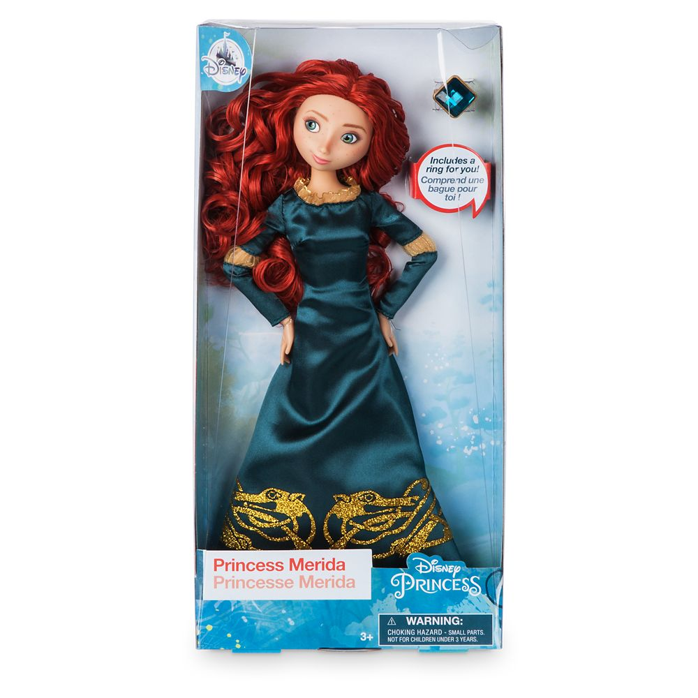 Merida Classic Doll with Ring – Brave – 11 1/2''