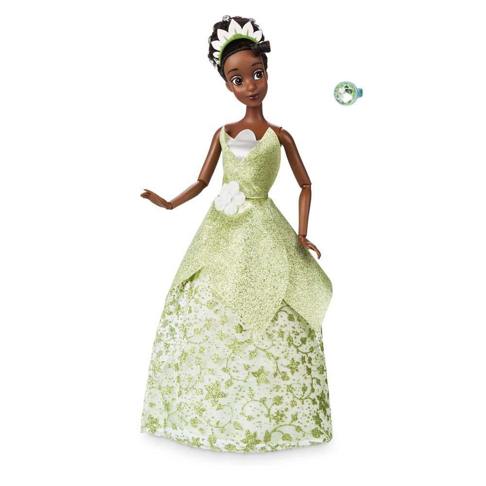 Tiana Classic Doll with Ring - The Princess and the Frog - 11 1/2