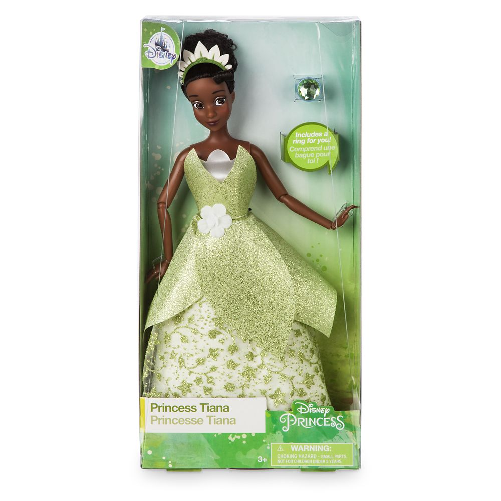 Tiana Classic Doll with Ring – The Princess and the Frog – 11 1/2''