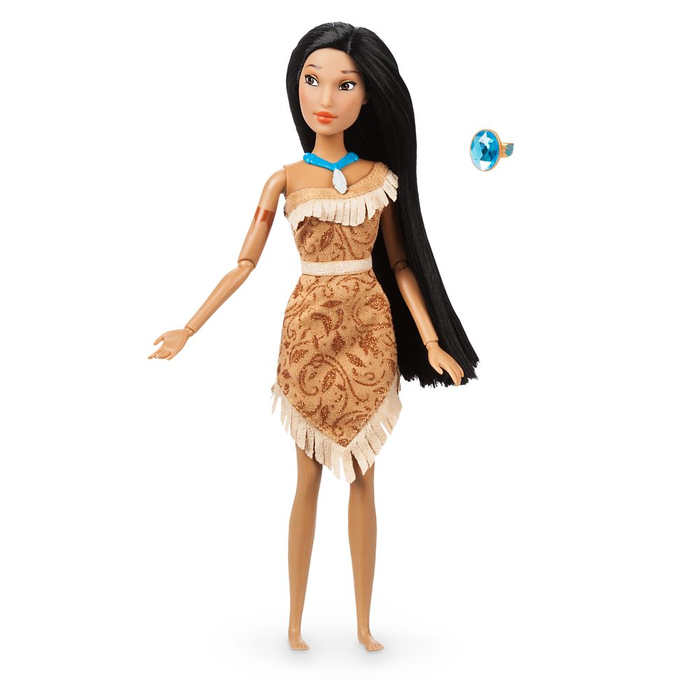 Pocahontas Classic Doll with Ring – 11 1/2''
