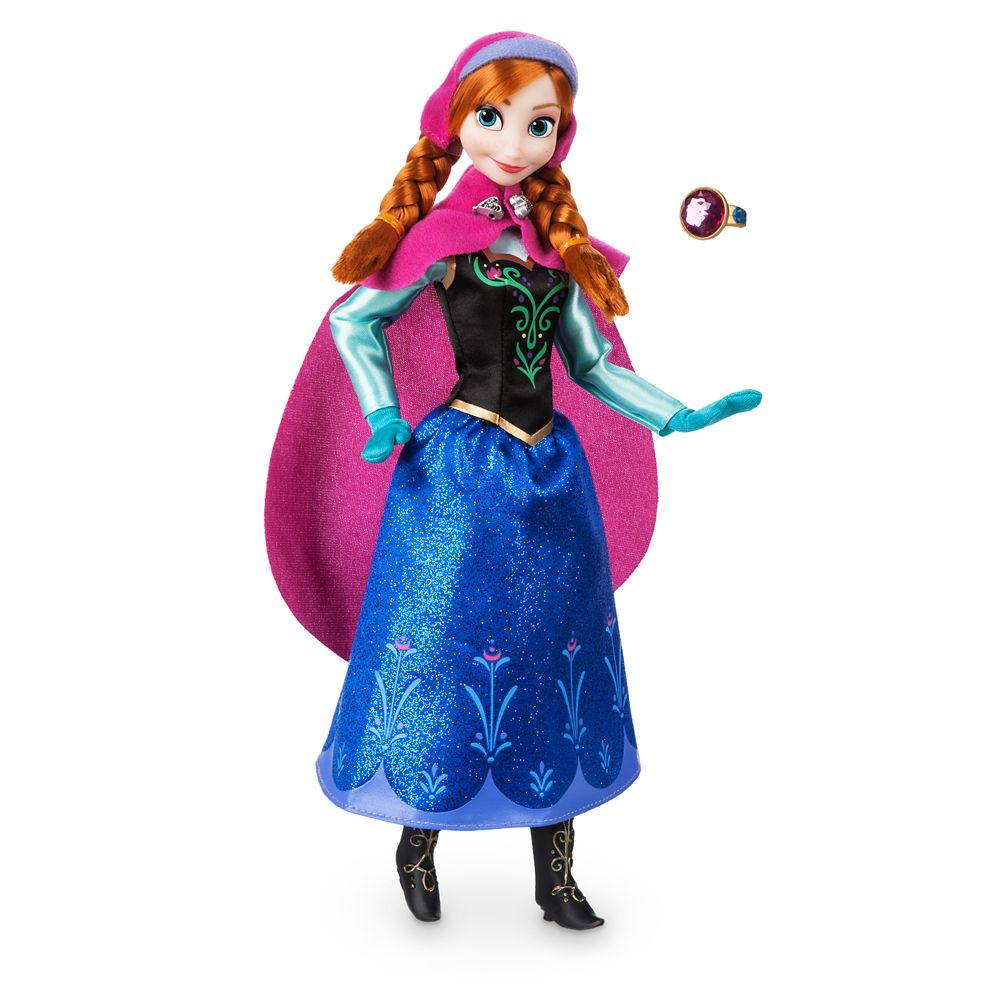 Anna Classic Doll with Ring  Frozen Official shopDisney