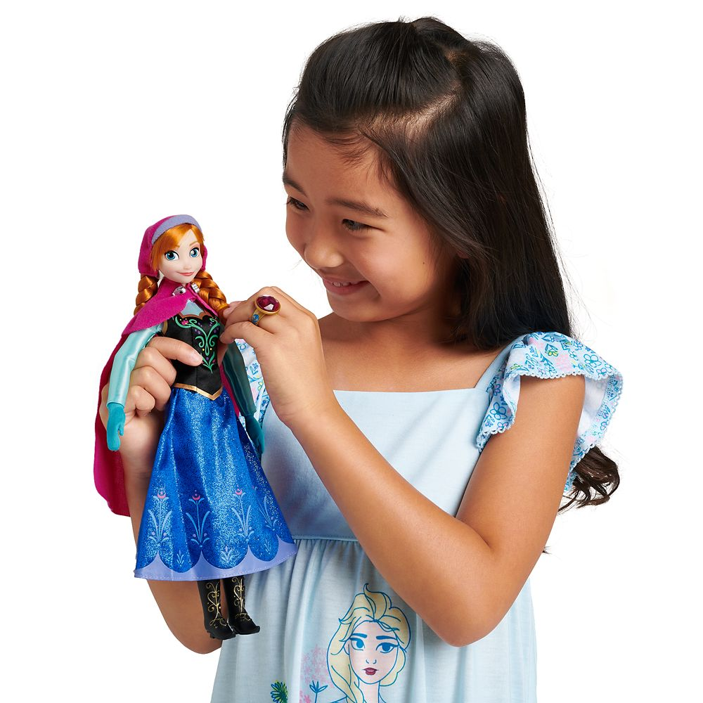 Anna Classic Doll with Ring – Frozen