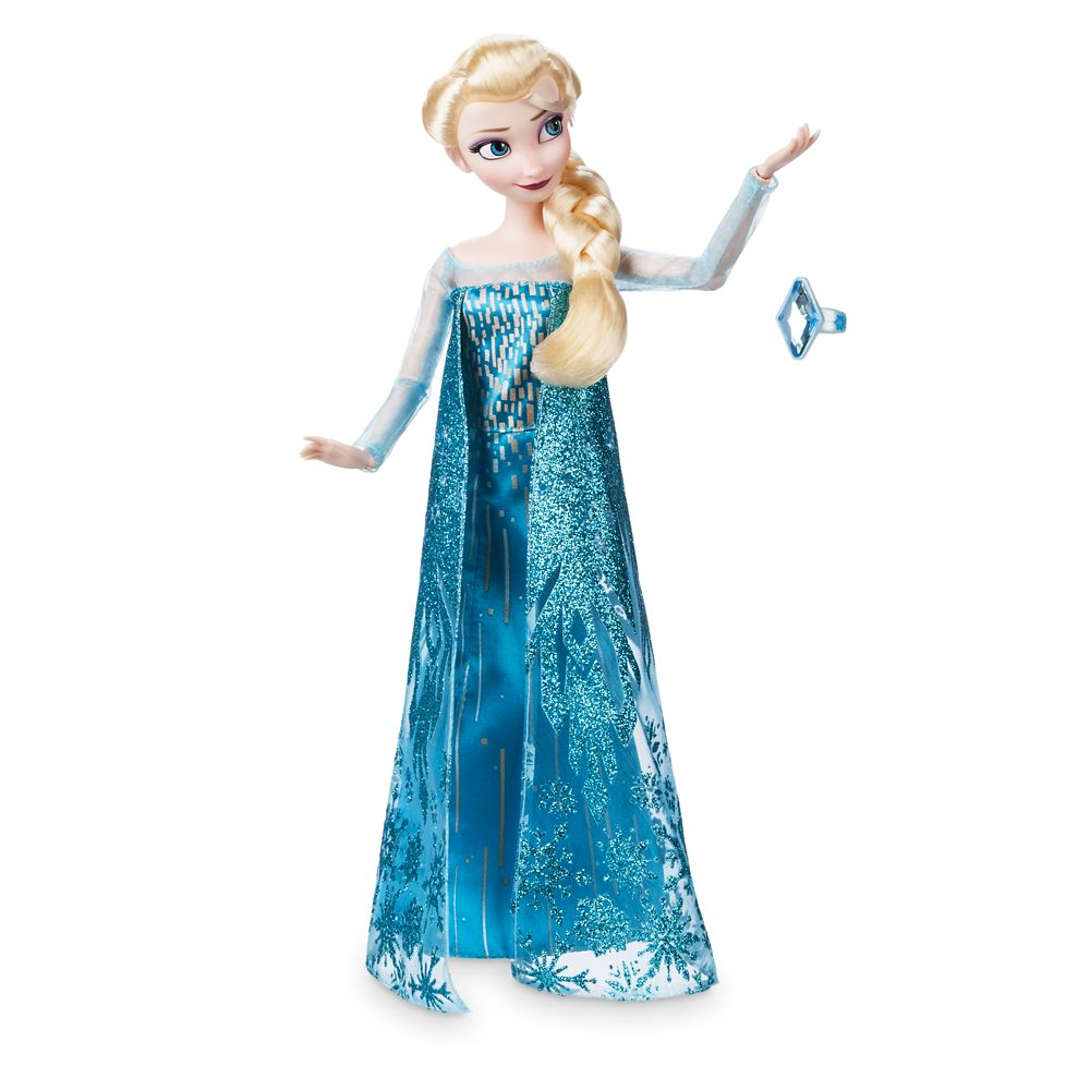 Elsa Classic Doll with Ring – Frozen – 11 1/2''