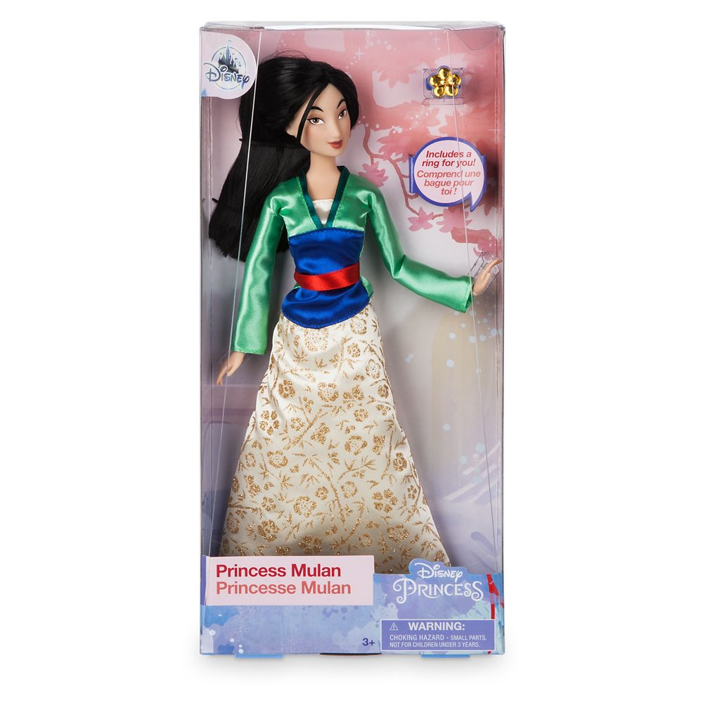 Mulan Classic Doll with Ring – 11 1/2''
