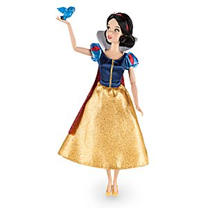 Snow White Classic Doll with Bluebird Figure - 12