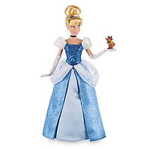 Cinderella Classic Doll with Gus Figure  -  12''