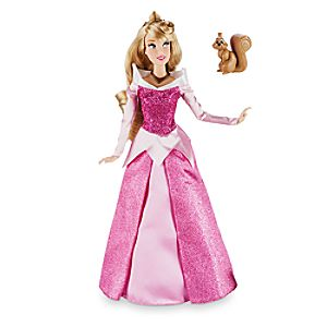 Aurora Classic Doll with Squirrel Figure - Sleeping Beauty - 12''