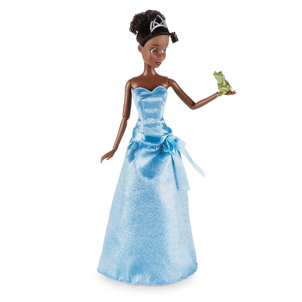 Tiana Classic Doll with Naveen as Frog Figure - 12 ...
