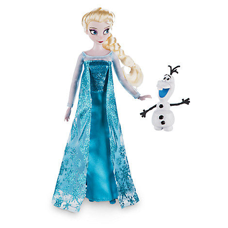 Elsa Classic Doll with Olaf Figure - 12''