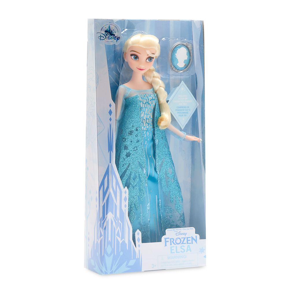 Elsa Classic Doll with Pendant – Frozen – 11 1/2''