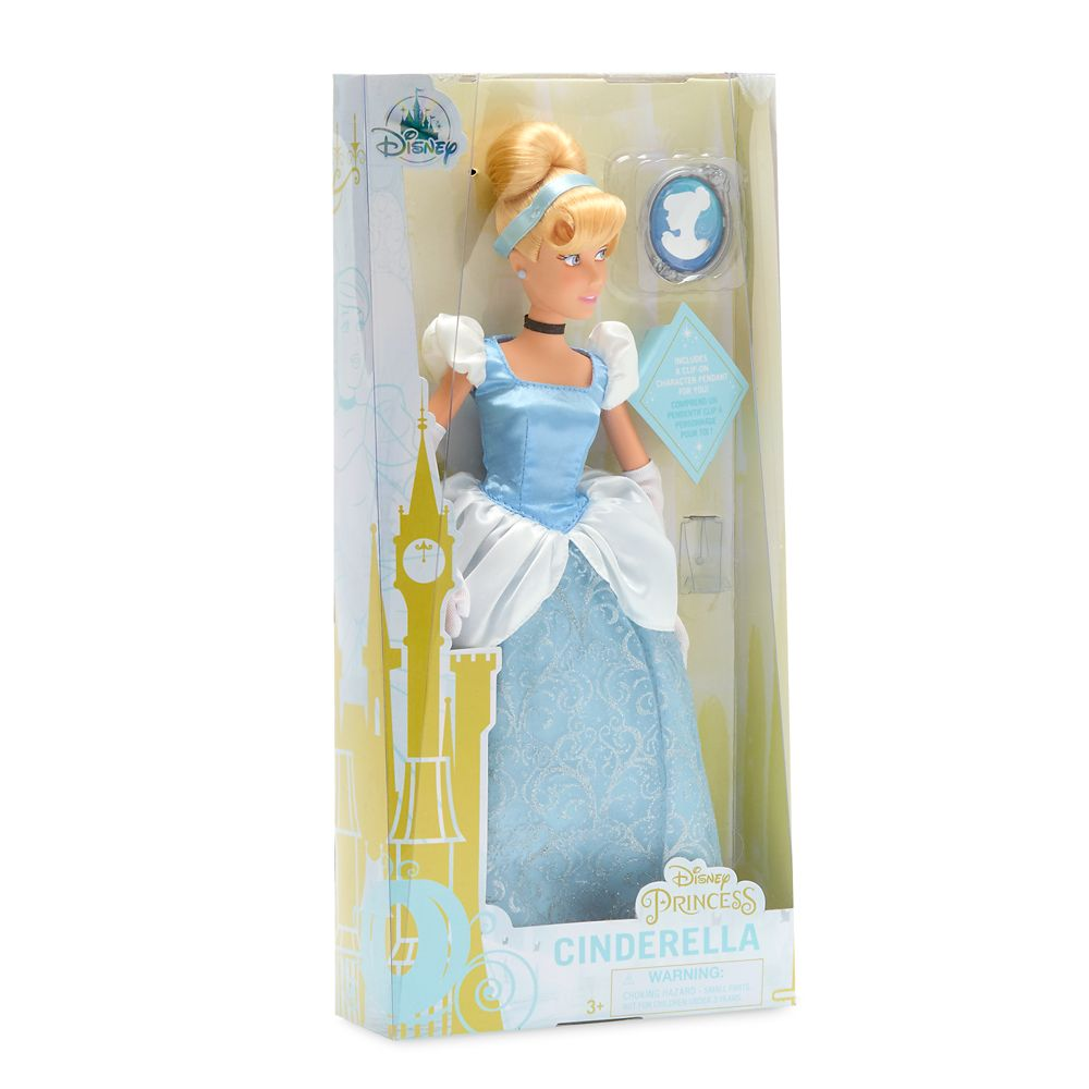 Cinderella Classic Doll with Pendant – 11 1/2''