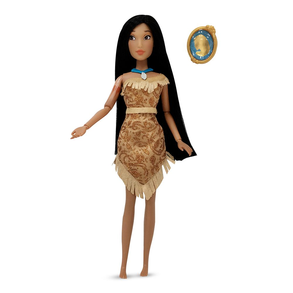 Pocahontas Classic Doll with Pendant – 11 1/2''