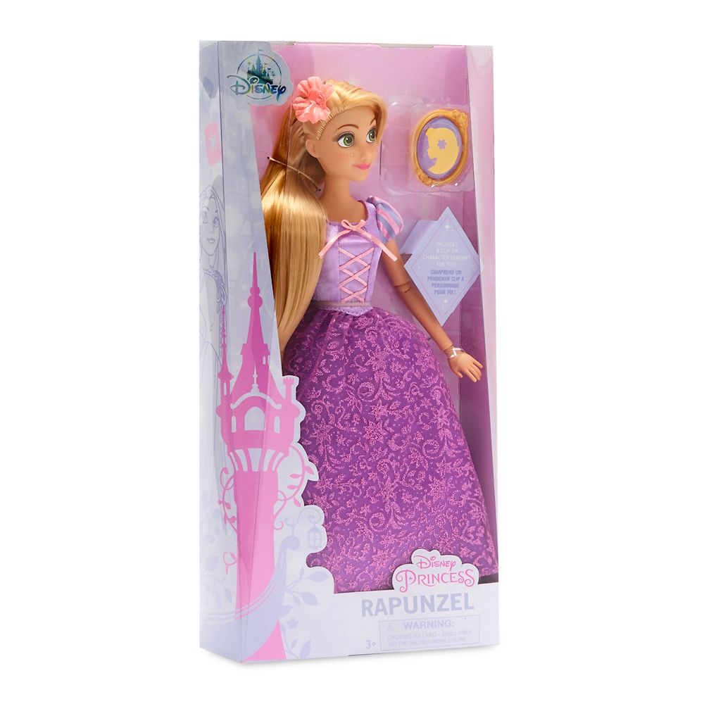 Rapunzel Classic Doll with Pendant – 11 1/2''