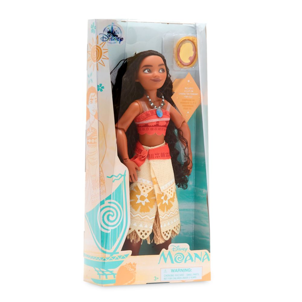 Moana Classic Doll with Pendant – 10 1/2''