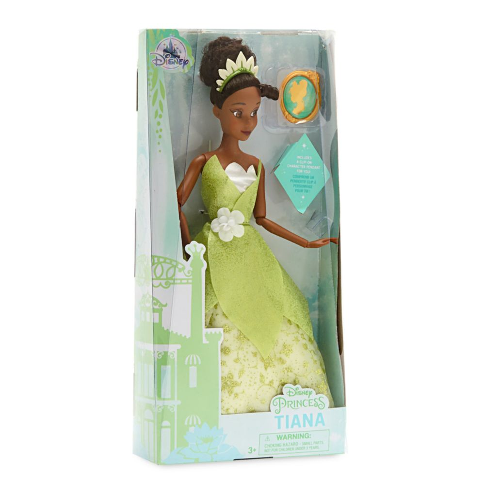 Tiana Classic Doll with Pendant – The Princess and the Frog – 11 1/2''