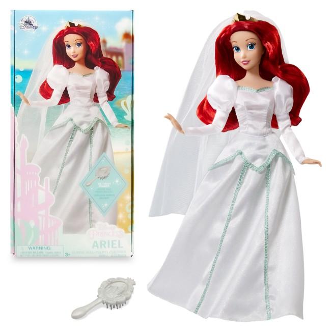 Ariel Wedding Classic Doll – The Little Mermaid – 11 1/2''