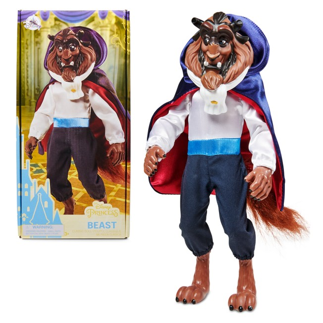 The Beast Classic Doll – Beauty and the Beast – 12 1/2''
