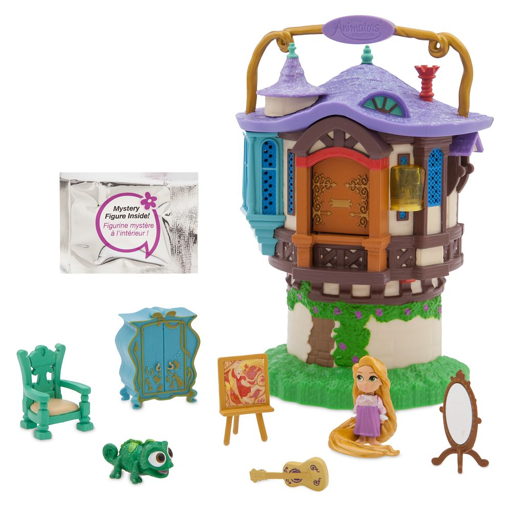 Disney Animators Collection Littles Rapunzel Surprise Feature Playset Tangled