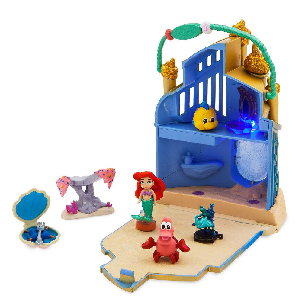 Disney Animators' Collection Littles Ariel Surprise Feature Playset – The Little Mermaid