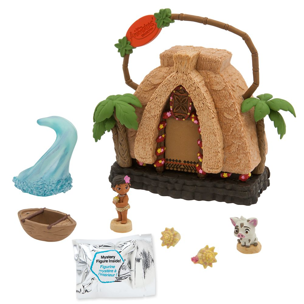 Disney Animators' Littles Motunui Island Surprise Feature Playset – Moana