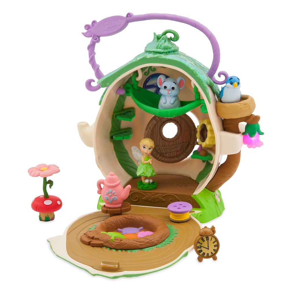 Disney Animators Collection Littles Tinker Bell Surprise Feature Play Set