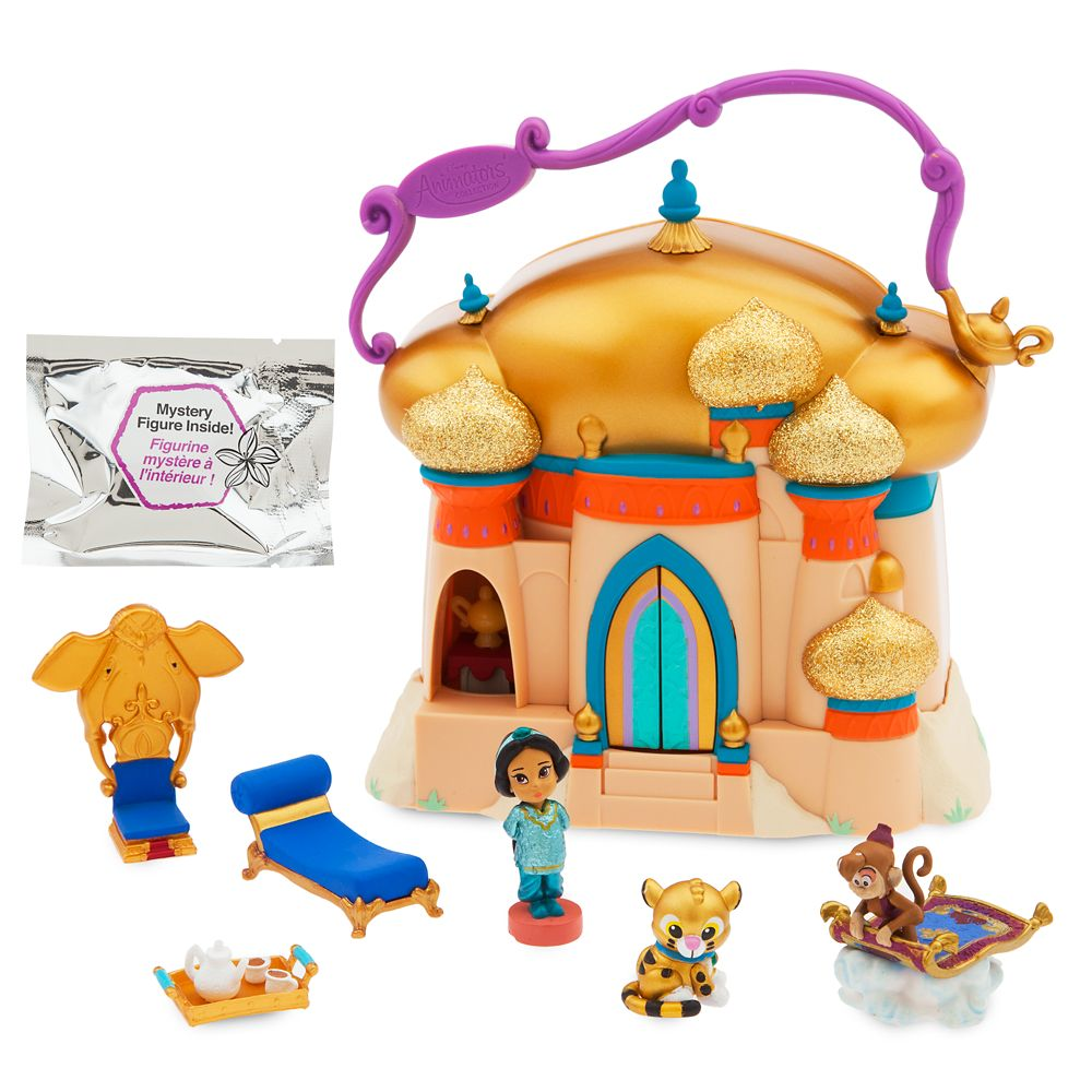 Disney Animators' Collection Littles Jasmine Surprise Feature Play Set