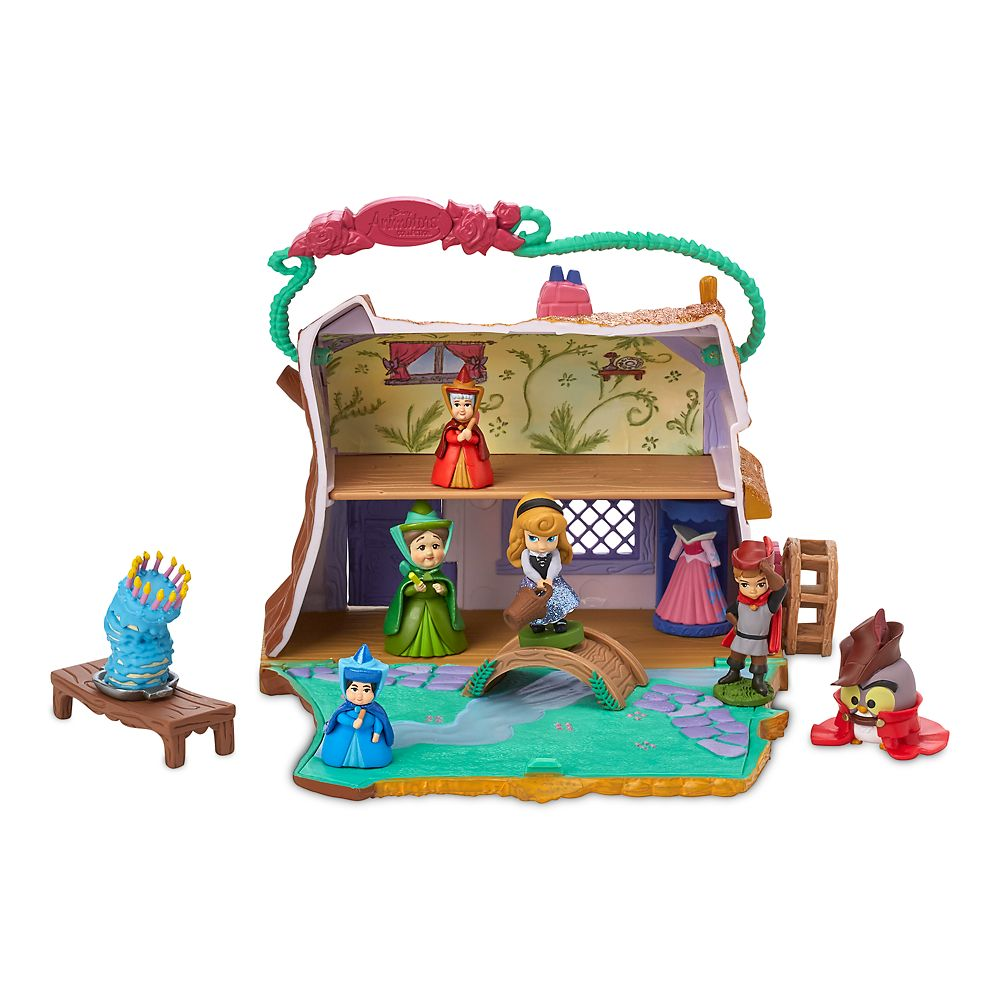 Disney Animators' Littles Aurora Cottage Play Set – Sleeping Beauty