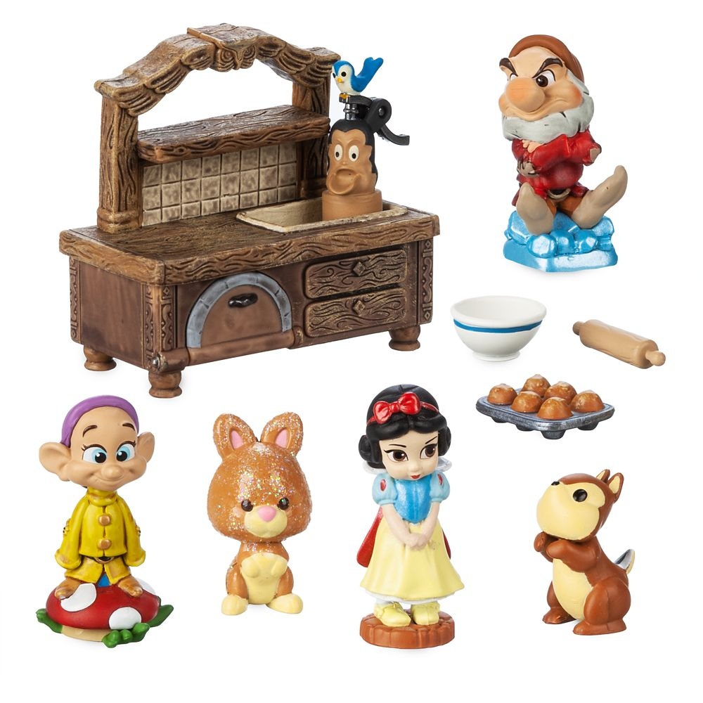 Disney Animators' Collection Littles Snow White Mini Set