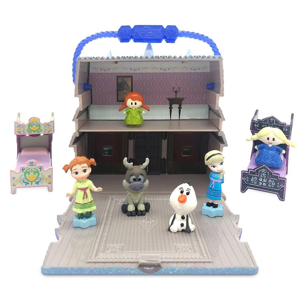 Disney Animators' Collection Littles Arendelle Castle Play Set – Frozen