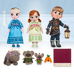 Disney Animators' Collection Anna, Elsa & Kristoff Deluxe Gift Set - 16''