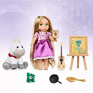 Disney Animators' Collection Singing Rapunzel Doll Gift Set - 16''