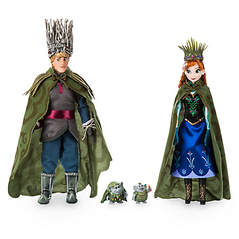 Anna, Kristoff, and Trolls Set - Frozen