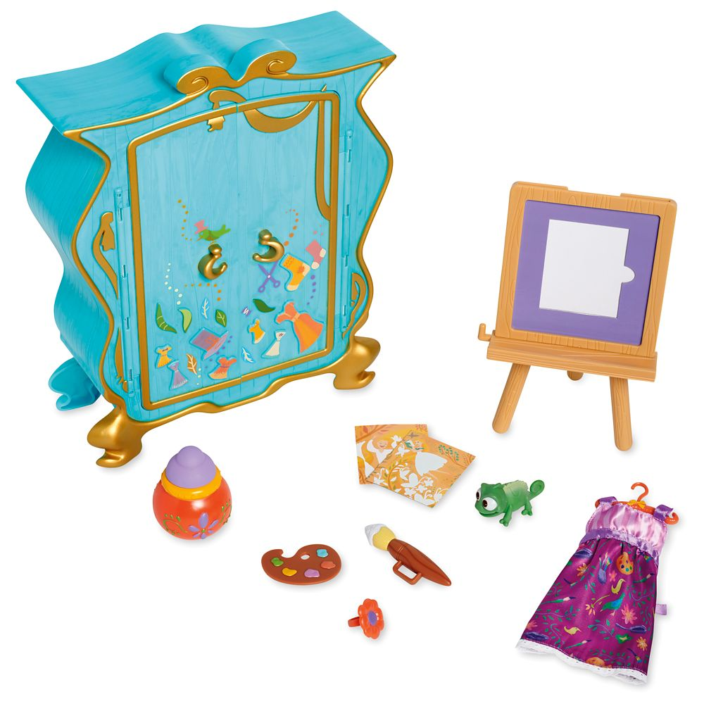 Disney Animators' Collection Rapunzel's Artist Armoire Playset