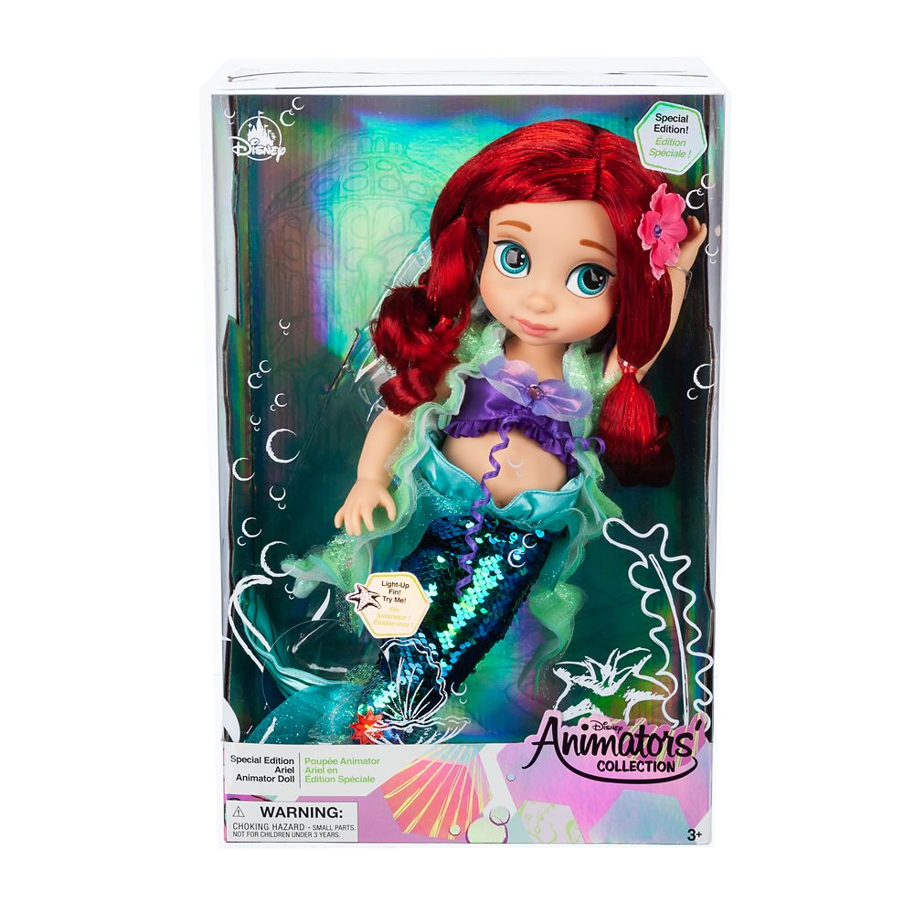Disney Animators' Collection Special Edition Ariel Doll – The Little Mermaid – 15''