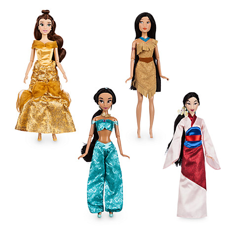 Disney Princess Classic Doll Collection Gift Set - 12''