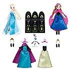 Anna and Elsa Mini Doll Wardrobe Play Set - Frozen - 5 1/2''