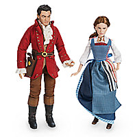Belle & Gaston Film Collection Doll Set - Beauty and the Beast - Live Action Film